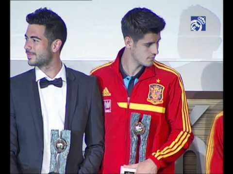 Raúl de Tomás Gómez premiado entre los mejores jugadores de canteras en España