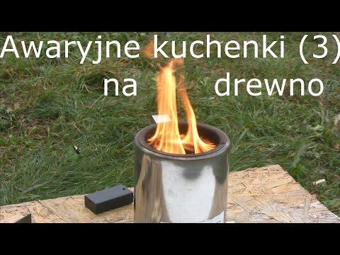 Awaryjne kuchenki (3): na drewno