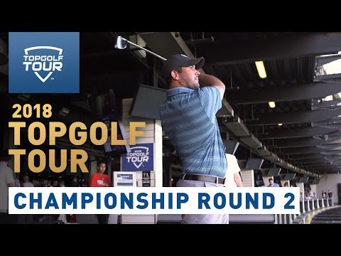 2018 Topgolf Tour | Championship Round 2 | Topgolf