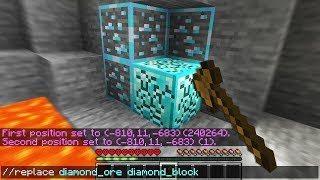 Minecraft UHC but i *cheat* with admin commands..