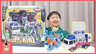 미니가 좋아하는 자동차 로봇은? 헬로카봇 아이언트 신제품 장난감 놀이 ♡ car toys kids play | 말이야와아이들 MariAndKids