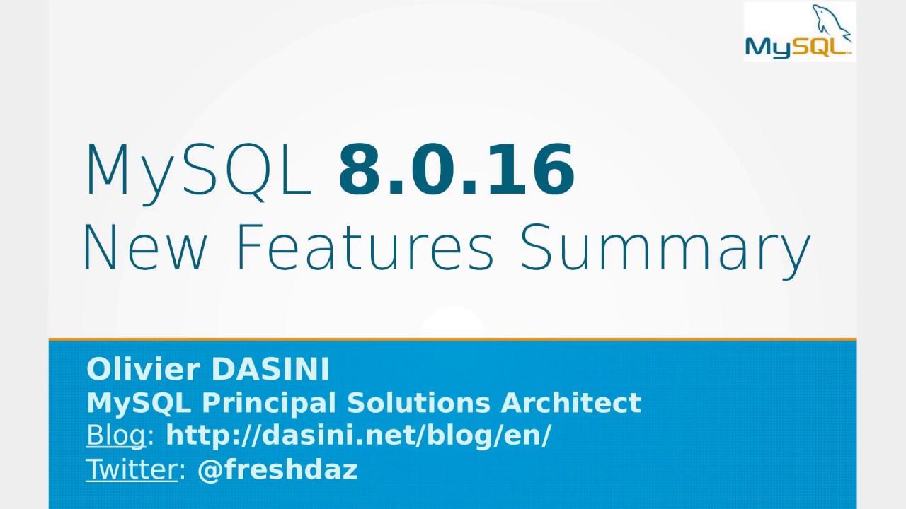dasini net - Journal d\'un expert MySQL