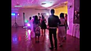 One of the line dances at James and Emily's wedding :)
