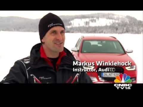 Audi Ice Driving Experience at Arvidsjaur by OVERDRIVE