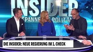 Die Insider: Neue Regierung im 1. Check