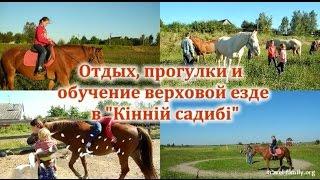 Отдых, прогулки на лошадях и обучение верховой езде: о нашей поездке в