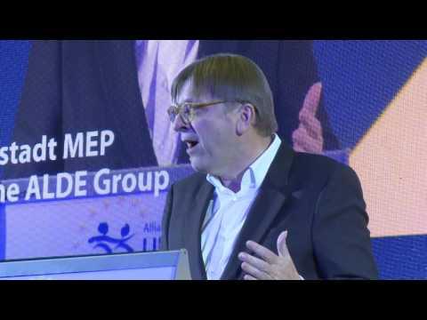 Speech by Guy Verhofstadt - ALDE Party Congress in Warsaw 2 December 2016