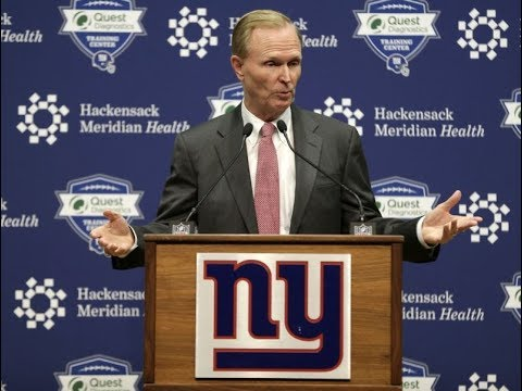 Giants co-owner, John Mara Press Conference:  Talks on fire Ben McAdoo and Jerry Reese