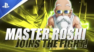 Dragon Ball Fighter Z | Master Roshi Launch Trailer | PS4