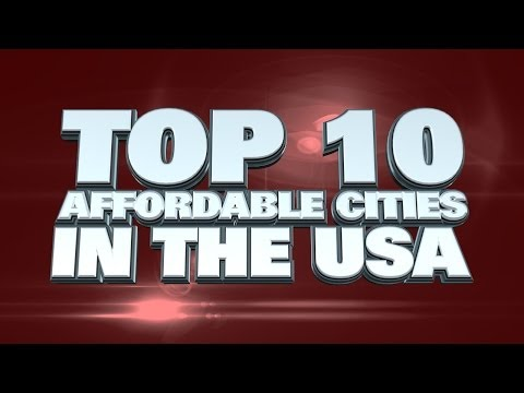 Top 10 Most Affordable Cities In The USA 2014 from YouTube · Duration:  2 minutes 13 seconds