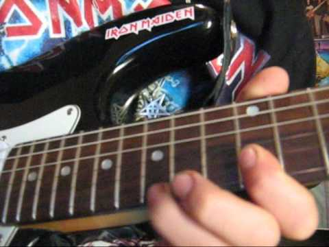 iron maiden-wasting love-guitar solo