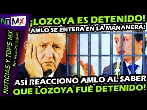 CONFIRMADO ¡ EMILIO LOZOYA DETENIDO ! ASI REACCIONA AMLO AL ENTERARSE EN LA CONFERENCIA MAÑANERA