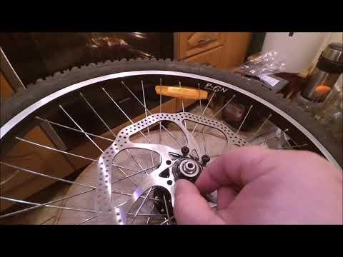 Установка дискового тормоза вместо ободного на велосипед