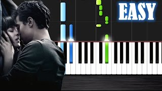 Ellie Goulding Love Me Like You Do EASY Piano Tutorial By PlutaX Synthesia