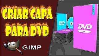 Criar Capa de DVD no Gimp