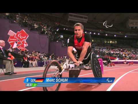 Athletics - Men's 400m - T54 Final - London 2012 Paralympic Games