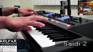 Roland E-A7 Middle Eastern Sound Library - Live Grooves Video - مكتبة ايقاعاة فرقة لل رولاند E-A7