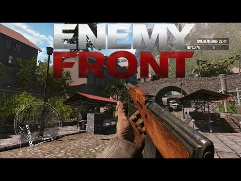 Enemy Front 2021 Multiplayer - French Town  