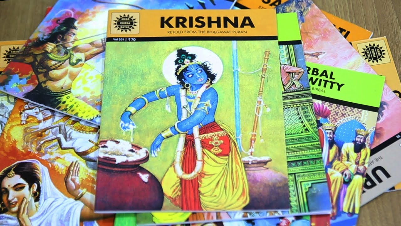 Amar Chitra Katha Ack The Real Story Anant Pai Tales Trails Youtube