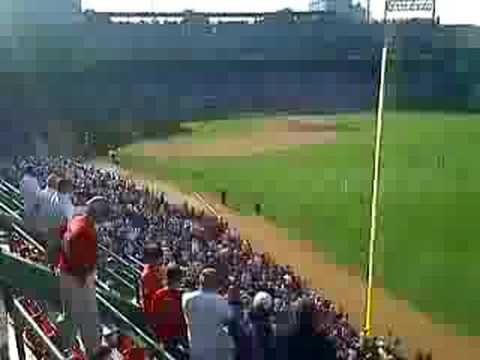 Fenway Park Right Field Box Seats Youtube