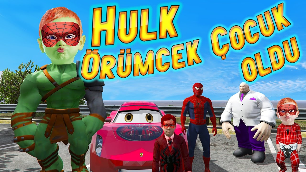 Download Hulk Örümcek Çocuk Oldu Sahte Jokere Müthiş Tuzak (Çocuklar İçin Çizgi Film)