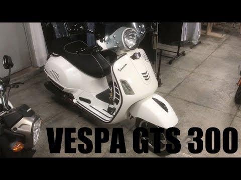 클래식 스쿠터 추천 ! 베스파 GTS  ! 주드로 간지 ! vespa gts ! scooter rent!