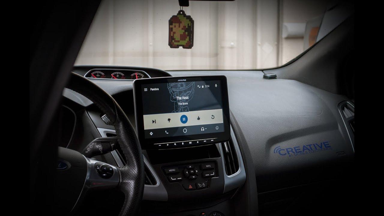 Alpine Ilx F309 Halo9 First Look 9 Touchscreen Radio Apple