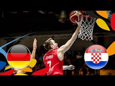 Germany v Croatia - Semi-Finals - Full Game - FIBA U20 European Championship 2018