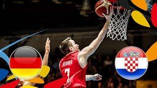 Germany v Croatia - Semi-Finals - Full Game - FIBA U20 European Championship 2018 thumbnail