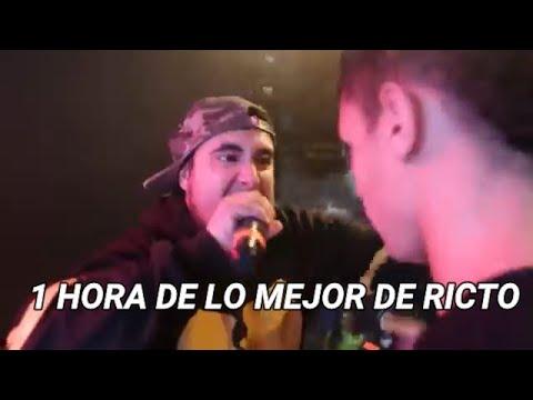 1 HORA DE LO MEJOR DE RICTO CON LETRA *EL REY DE LA METRICA* (Ricto Se Queda En FMS)