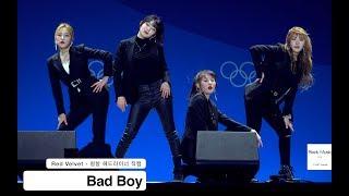 레드벨벳 Red Velvet[4K 직캠]Bad Boy 배드보이@180220 락뮤직