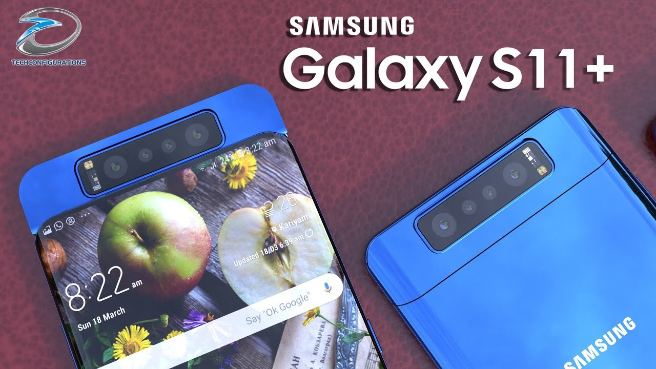 Samsung Galaxy S11 Introduction Concept with Rotating Camera Design
