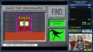 [WR] 3D Dinosaur Adventure (PC) Save the Dinos in 2:13