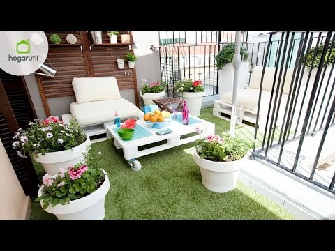 Decorar terraza de estilo chill out youtube - Ideas para una terraza pequena ...
