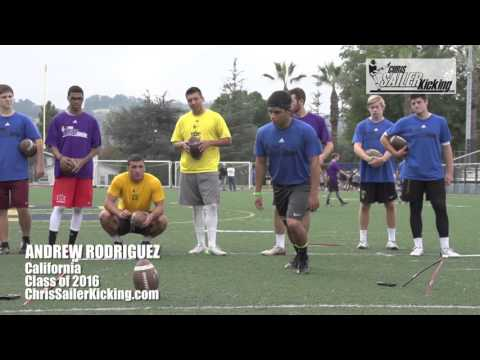 Andrew Rodriguez - Kicker/Punter