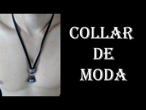 573ecb137357 Como Hacer Collar de Moda Para Hombres DIY - NECKLACE FOR MEN - YouTube
