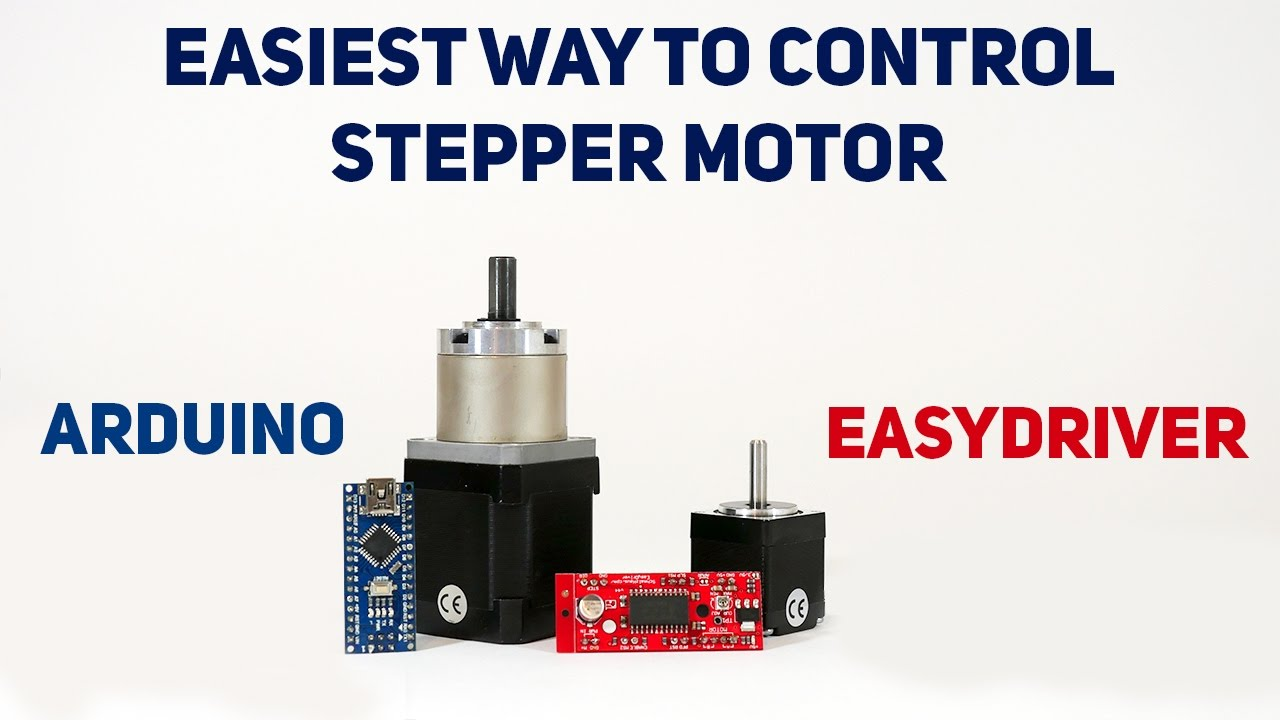 Easiest Way To Control A Stepper Motor Easydriver Youtube Simple Driver Circuit