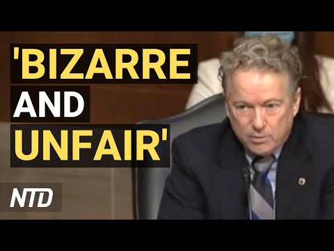 'What Planet Are You From?': Rand Paul Condemns Biden's Sports Policy | NTD