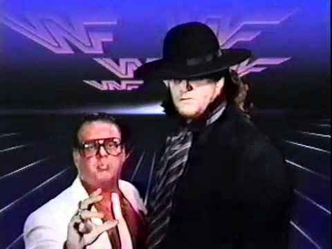 WWE Superstars The Undertaker promo 09.02.1991 - YouTube