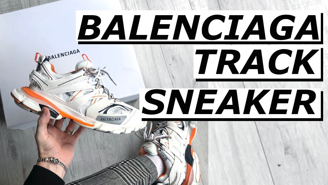 BALENCiAGA TRACK TRAiNER REViEW ON YouTube