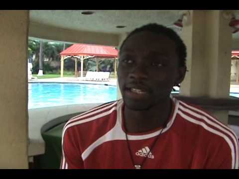 Chit Chat With Kenwyne Jones Before Cuba