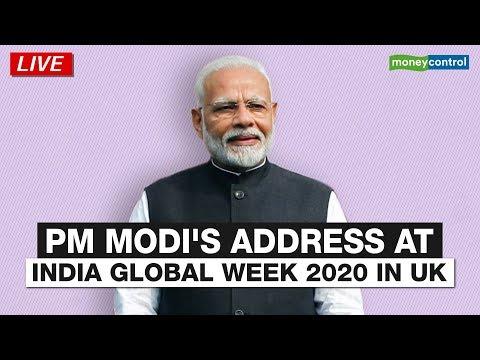 Prime Minister Narendra Modi Delivers Inaugural Address At India Global Week 2020 In UK