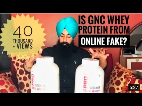 UNBOXING OF GNC PRO PERFORMANCE WHEY PROTEIN by The Fit Singh