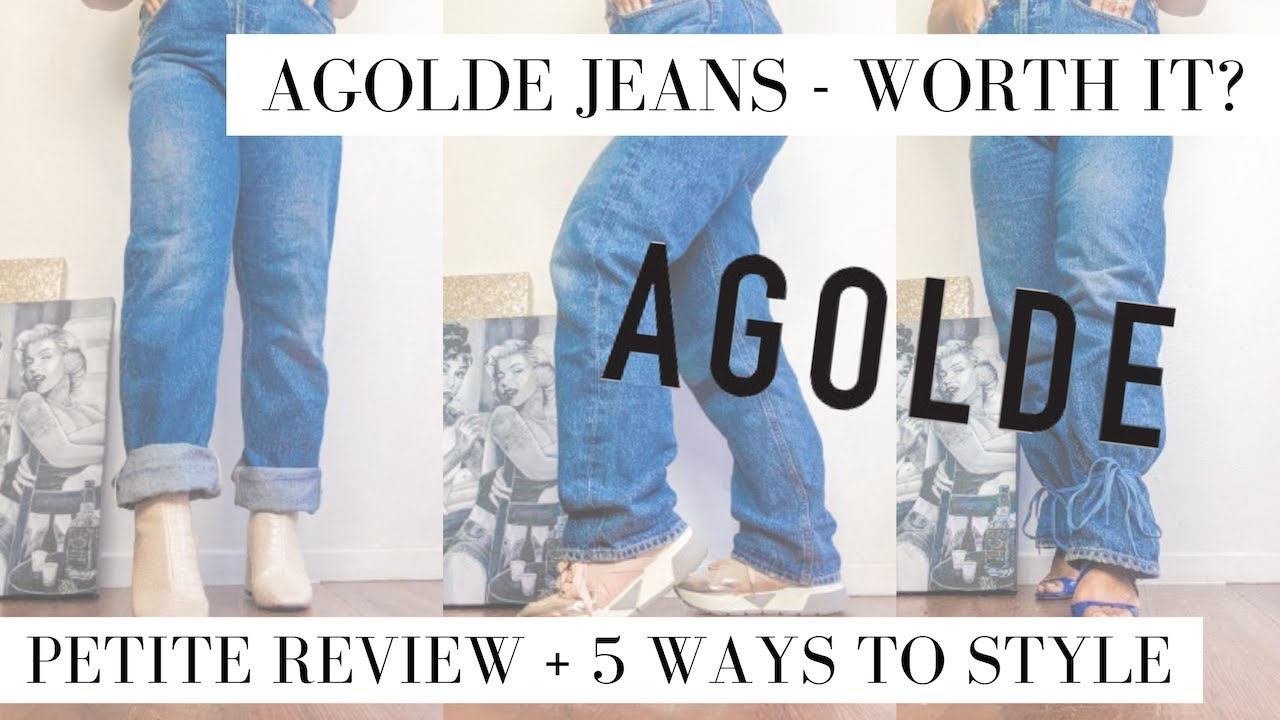 PETITE REVIEW | AGOLDE Denim Jeans - Are They Worth It for $168? + 5 Ways to Style 2