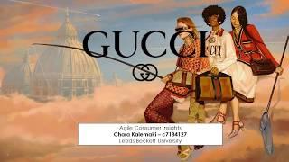 Charikleia Kalemaki c7184127 - Consumer Behaviour Theories Applied by Gucci