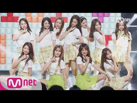 [I.O.I - Dream Girls] KPOP TV Show L M COUNTDOWN 160519 EP.474