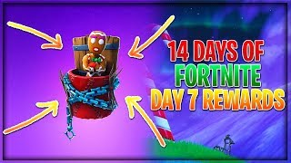 Fortnite 14 Days Of Christmas Day 7 Rewards (Fortnite Merry Munchkin Backbling)