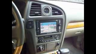2000 Infiniti QX4 start up test drive