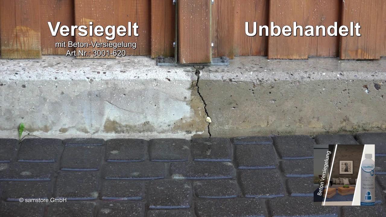 Beton Versiegeln farblose betonversiegelung mit tiefenwirkung