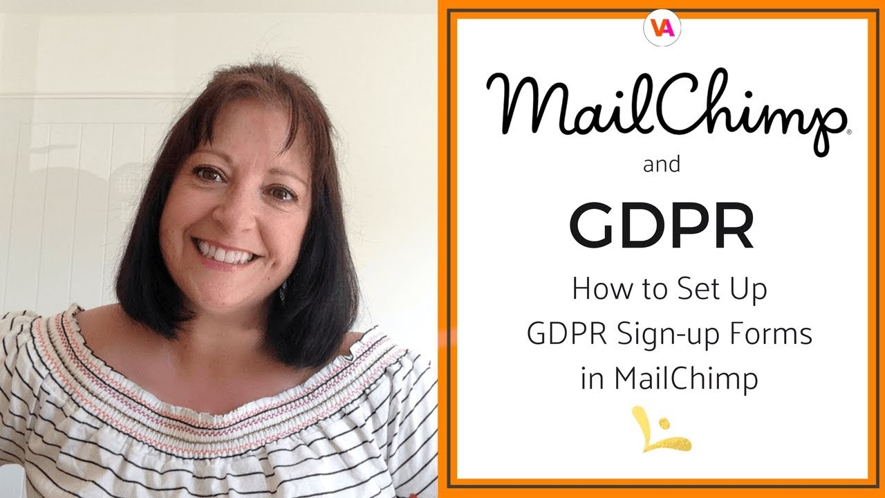 Mailchimp And Gdpr How To Set Up Gdpr Signup Forms Youtube